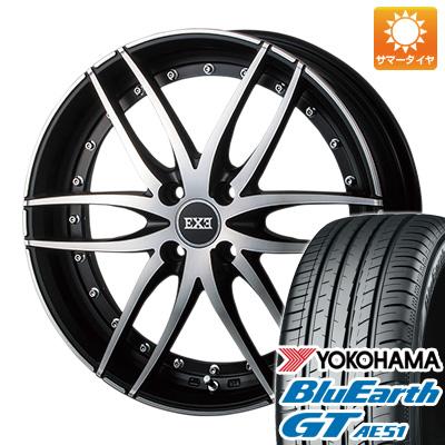 今がお得! 送料無料 165/55R15 15インチ サマータイヤ ホイール4本セット AKUT アクト ZERO ブレイクエグゼ 5J 5.00-15 YOKOHAMA ブルーアース GT AE51