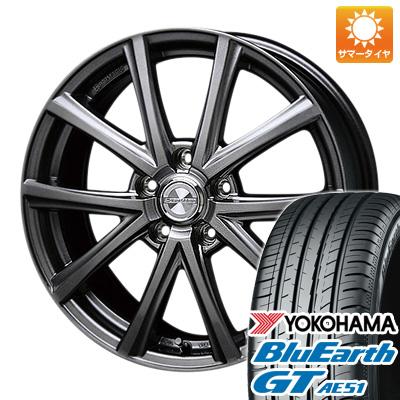 今がお得! 送料無料 205/65R15 15インチ サマータイヤ ホイール4本セット BLEST ブレスト ユーロマジック アスパイアFX限定 6J 6.00-15 YOKOHAMA ブルーアース GT AE51