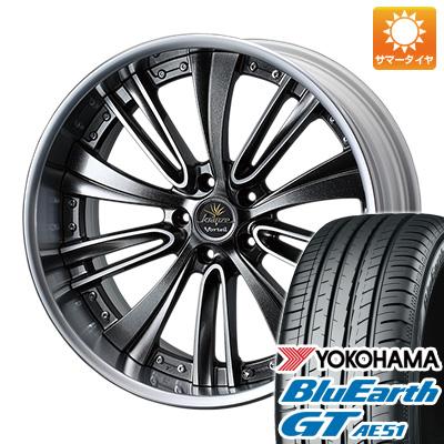 今がお得! 送料無料 235/40R19 19インチ サマータイヤ ホイール4本セット WEDS ウェッズ クレンツェ ヴォルテイル 8.5J 8.50-19 YOKOHAMA ブルーアース GT AE51