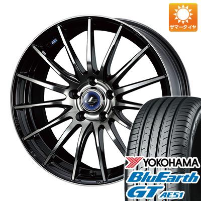 今がお得! 送料無料 205/65R15 15インチ サマータイヤ ホイール4本セット WEDS ウェッズ レオニス NAVIA 05 6J 6.00-15 YOKOHAMA ブルーアース GT AE51