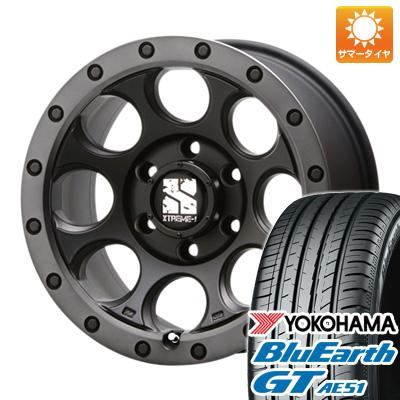 今がお得! 送料無料 235/50R18 18インチ サマータイヤ ホイール4本セット MLJ エクストリームJ XJ03 8J 8.00-18 YOKOHAMA ブルーアース GT AE51
