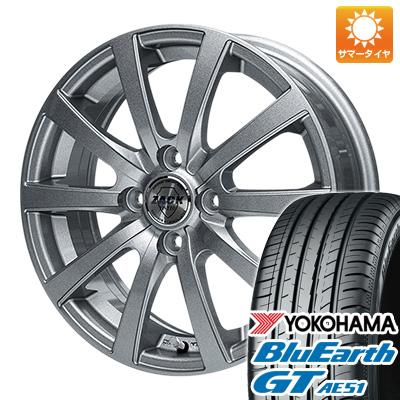 今がお得! 送料無料 175/65R15 15インチ サマータイヤ ホイール4本セット MONZA モンツァ ZACK JP-110 10スポーク 5.5J 5.50-15 YOKOHAMA ブルーアース GT AE51