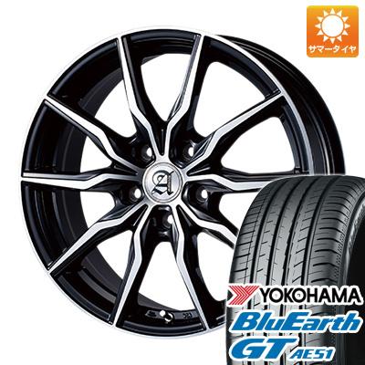 今がお得! 送料無料 205/50R17 17インチ サマータイヤ ホイール4本セット TECHNOPIA テクノピア アドニス KRS 7J 7.00-17 YOKOHAMA ブルーアース GT AE51
