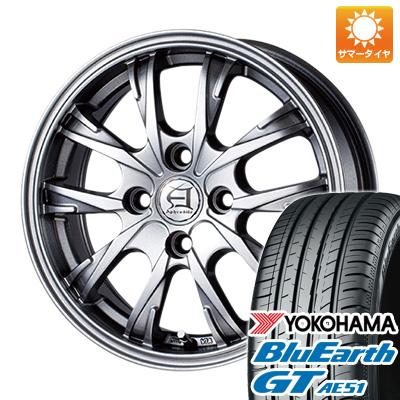 今がお得! 送料無料 175/65R14 14インチ サマータイヤ ホイール4本セット TECHNOPIA テクノピア アフロディーテ GX 5.5J 5.50-14 YOKOHAMA ブルーアース GT AE51