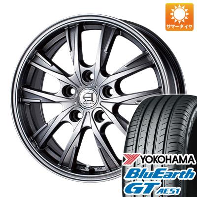 今がお得! 送料無料 215/65R16 16インチ サマータイヤ ホイール4本セット TECHNOPIA テクノピア アフロディーテ GX 6.5J 6.50-16 YOKOHAMA ブルーアース GT AE51