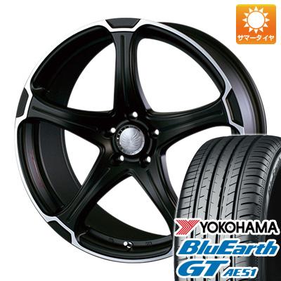今がお得! 送料無料 215/40R18 18インチ サマータイヤ ホイール4本セット ALGERNON アルジェノン フェニーチェ TT-1限定 7J 7.00-18 YOKOHAMA ブルーアース GT AE51