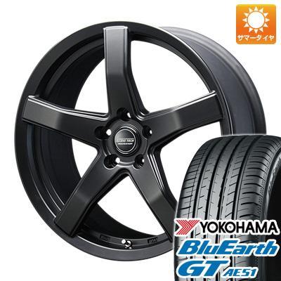 今がお得! 送料無料 225/50R18 18インチ サマータイヤ ホイール4本セット BLEST ブレスト バーンズテック V-05 8J 8.00-18 YOKOHAMA ブルーアース GT AE51