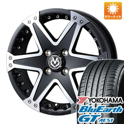 今がお得! 送料無料 165/55R15 15インチ サマータイヤ ホイール4本セット WEDS ウェッズ マッドヴァンス 01 5J 5.00-15 YOKOHAMA ブルーアース GT AE51