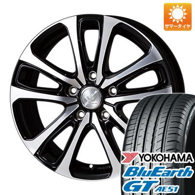 今がお得! 送料無料 215/65R16 16インチ サマータイヤ ホイール4本セット TOPY トピー セレブロ LF5 6.5J 6.50-16 YOKOHAMA ブルーアース GT AE51