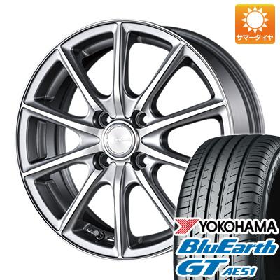 今がお得! 送料無料 185/65R15 15インチ サマータイヤ ホイール4本セット BRIDGESTONE ブリヂストン エコフォルム CRS/15 5.5J 5.50-15 YOKOHAMA ブルーアース GT AE51