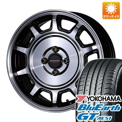 今がお得! 送料無料 185/55R16 16インチ サマータイヤ ホイール4本セット CRIMSON クリムソン ホクトレーシング 零式S 6.5J 6.50-16 YOKOHAMA ブルーアース GT AE51
