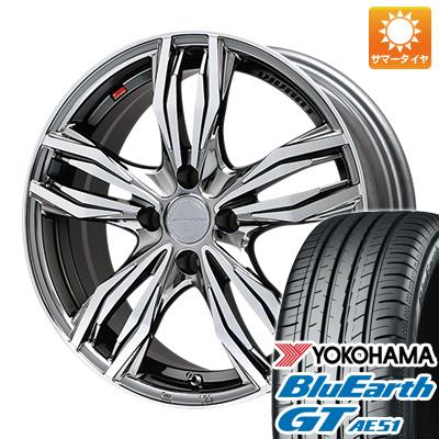 今がお得! 送料無料 165/55R15 15インチ サマータイヤ ホイール4本セット LEHRMEISTER レアマイスター ヴィヴァン(BMCポリッシュ) 4.5J 4.50-15 YOKOHAMA ブルーアース GT AE51