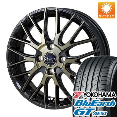 今がお得! 送料無料 195/65R15 15インチ サマータイヤ ホイール4本セット MONZA モンツァ ワーウィック エンプレス メッシュ 6J 6.00-15 YOKOHAMA ブルーアース GT AE51