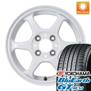 今がお得! 送料無料 155/65R14 14インチ サマータイヤ ホイール4本セット カジュアルセット タイプL 2. 4.5J 4.50-14 YOKOHAMA ブルーアース GT AE51