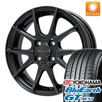 今がお得! 送料無料 155/65R14 14インチ サマータイヤ ホイール4本セット BIGWAY ビッグウエイ LEYBAHN WGS 4.5J 4.50-14 YOKOHAMA ブルーアース GT AE51
