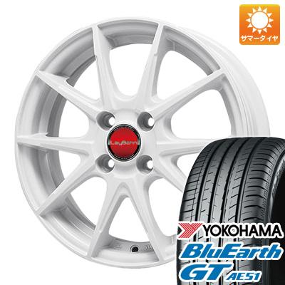 今がお得! 送料無料 175/65R15 15インチ サマータイヤ ホイール4本セット BIGWAY ビッグウエイ LEYBAHN WGS 5.5J 5.50-15 YOKOHAMA ブルーアース GT AE51
