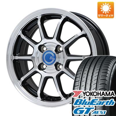 今がお得! 送料無料 175/65R15 15インチ サマータイヤ ホイール4本セット BRANDLE ブランドル M60B 5.5J 5.50-15 YOKOHAMA ブルーアース GT AE51