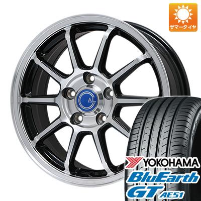 【送料無料】 215/50R17 17インチ BRANDLE ブランドル M60B 7J 7.00-17 YOKOHAMA ヨコハマ ブルーアース GT AE51 サマータイヤ ホイール4本セット