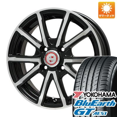 今がお得! 送料無料 185/55R16 16インチ サマータイヤ ホイール4本セット BIGWAY ビッグウエイ EXPLODE BPV 6J 6.00-16 YOKOHAMA ブルーアース GT AE51