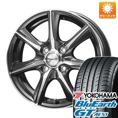今がお得! 送料無料 185/55R16 16インチ サマータイヤ ホイール4本セット DUNLOP ダンロップ ロフィーダ XT7 6J 6.00-16 YOKOHAMA ブルーアース GT AE51