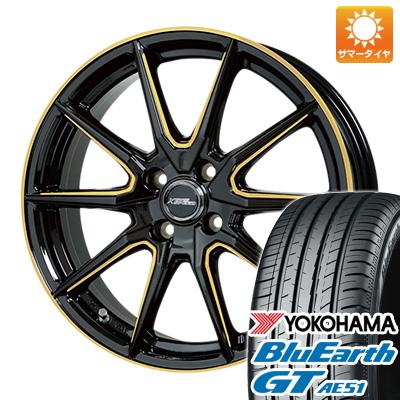 今がお得! 送料無料 165/55R15 15インチ サマータイヤ ホイール4本セット HOT STUFF ホットスタッフ クロススピード プレミアムRS10 シングルマシニング 4.5J 4.50-15 YOKOHAMA ブルーアース GT AE51