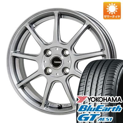 今がお得! 送料無料 195/45R16 16インチ サマータイヤ ホイール4本セット HOT STUFF ホットスタッフ ジースピード G-01 6J 6.00-16 YOKOHAMA ブルーアース GT AE51
