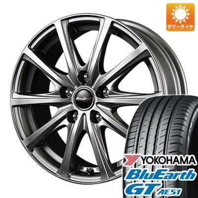 【送料無料】 205/55R17 17インチ MID ユーロスピード V25 7J 7.00-17 YOKOHAMA ヨコハマ ブルーアース GT AE51 サマータイヤ ホイール4本セット