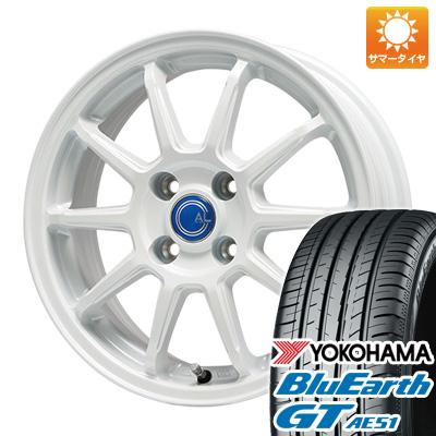 今がお得! 送料無料 175/65R15 15インチ サマータイヤ ホイール4本セット BRANDLE-LINE ブランドルライン カルッシャー ホワイト 5.5J 5.50-15 YOKOHAMA ブルーアース GT AE51