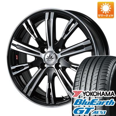 今がお得! 送料無料 165/55R15 15インチ サマータイヤ ホイール4本セット BLEST ブレスト バーンシュポルト タイプ525 5J 5.00-15 YOKOHAMA ブルーアース GT AE51