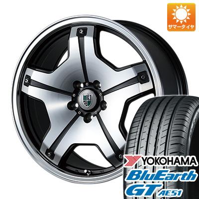 今がお得! 送料無料 225/45R19 19インチ サマータイヤ ホイール4本セット BLEST ブレスト バーンシュポルト タイプDX限定 8.5J 8.50-19 YOKOHAMA ブルーアース GT AE51