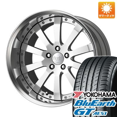 今がお得! 送料無料 245/45R19 19インチ サマータイヤ ホイール4本セット WORK ワーク エクイップ E10 8.5J 8.50-19 YOKOHAMA ブルーアース GT AE51
