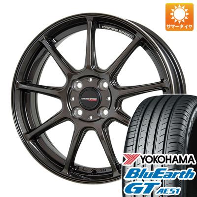 【送料無料】 185/60R15 15インチ HOT STUFF ホットスタッフ クロススピード ハイパーエディションRS-9 5.5J 5.50-15 YOKOHAMA ヨコハマ ブルーアース GT AE51 サマータイヤ ホイール4本セット