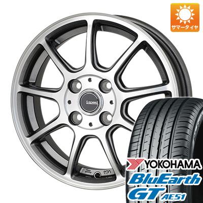 今がお得! 送料無料 195/50R16 16インチ サマータイヤ ホイール4本セット HOT STUFF ホットスタッフ ジースピード P-01 6J 6.00-16 YOKOHAMA ブルーアース GT AE51