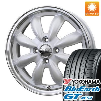 今がお得! 送料無料 155/65R14 14インチ サマータイヤ ホイール4本セット HOT STUFF ホットスタッフ ララパーム カップ 4.5J 4.50-14 YOKOHAMA ブルーアース GT AE51