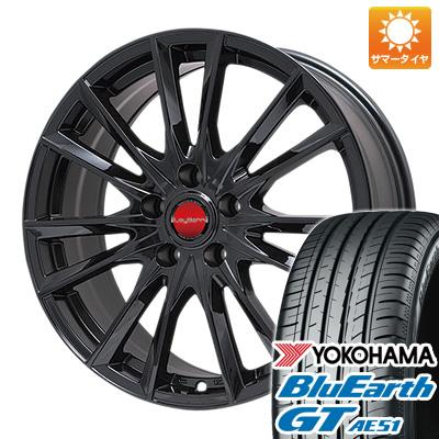 今がお得! 送料無料 215/60R16 16インチ サマータイヤ ホイール4本セット BIGWAY ビッグウエイ LEYBAHN GBX 6.5J 6.50-16 YOKOHAMA ブルーアース GT AE51
