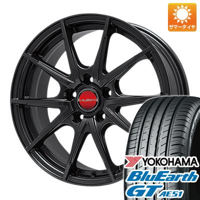 今がお得! 送料無料 205/55R16 16インチ サマータイヤ ホイール4本セット BIGWAY ビッグウエイ LEYBAHN WGS 6.5J 6.50-16 YOKOHAMA ブルーアース GT AE51