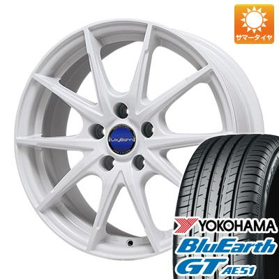 今がお得! 送料無料 215/40R18 18インチ サマータイヤ ホイール4本セット BIGWAY ビッグウエイ LEYBAHN WGS 7.5J 7.50-18 YOKOHAMA ブルーアース GT AE51