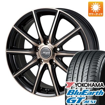今がお得! 送料無料 205/65R15 15インチ サマータイヤ ホイール4本セット MONZA モンツァ Rバージョンスプリント 6J 6.00-15 YOKOHAMA ブルーアース GT AE51