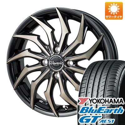 今がお得! 送料無料 165/55R15 15インチ サマータイヤ ホイール4本セット MONZA モンツァ ワーウィック ハーベル 4.5J 4.50-15 YOKOHAMA ブルーアース GT AE51