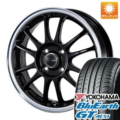 今がお得! 送料無料 175/65R15 15インチ サマータイヤ ホイール4本セット PIAA モトリズモTS-6 5.5J 5.50-15 YOKOHAMA ブルーアース GT AE51