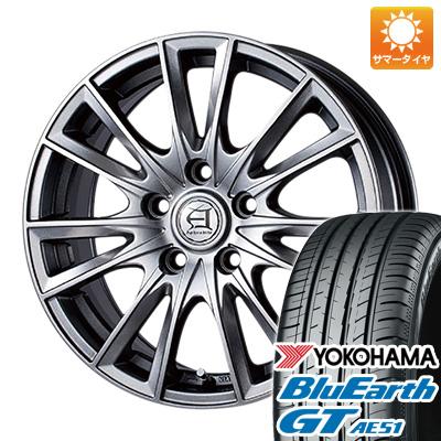 今がお得! 送料無料 215/65R16 16インチ サマータイヤ ホイール4本セット TECHNOPIA テクノピア アフロディーテ EF 6.5J 6.50-16 YOKOHAMA ブルーアース GT AE51
