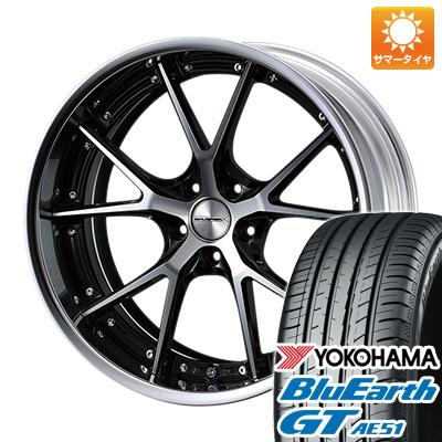 今がお得! 送料無料 215/40R18 18インチ サマータイヤ ホイール4本セット WEDS ウェッズ マーベリック 905S 7.5J 7.50-18 YOKOHAMA ブルーアース GT AE51