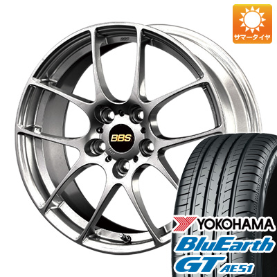 今がお得! 送料無料 215/40R18 18インチ サマータイヤ ホイール4本セット BBS JAPAN BBS RF 7.5J 7.50-18 YOKOHAMA ブルーアース GT AE51