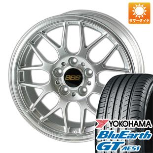 今がお得! 送料無料 215/55R17 17インチ サマータイヤ ホイール4本セット BBS JAPAN BBS RG-R 7J 7.00-17 YOKOHAMA ブルーアース GT AE51