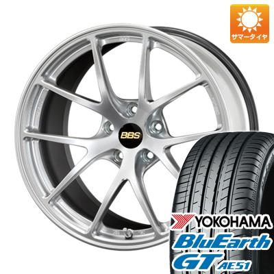 今がお得! 送料無料 225/40R18 18インチ サマータイヤ ホイール4本セット BBS JAPAN BBS RI-A 7.5J 7.50-18 YOKOHAMA ブルーアース GT AE51