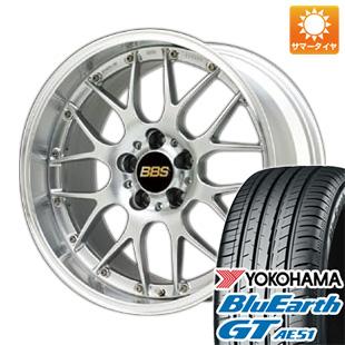 今がお得! 送料無料 225/40R19 19インチ サマータイヤ ホイール4本セット BBS JAPAN BBS RS-GT 8J 8.00-19 YOKOHAMA ブルーアース GT AE51