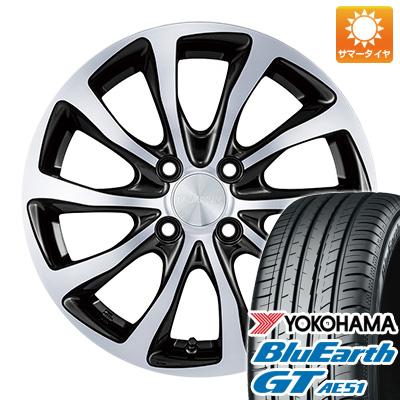 今がお得! 送料無料 175/65R15 15インチ サマータイヤ ホイール4本セット BRIDGESTONE ブリヂストン バルミナ T10 5.5J 5.50-15 YOKOHAMA ブルーアース GT AE51