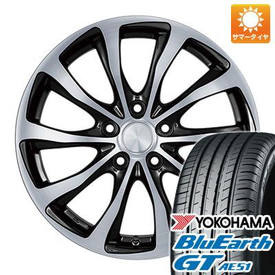 今がお得! 送料無料 205/65R15 15インチ サマータイヤ ホイール4本セット BRIDGESTONE ブリヂストン バルミナ T10 6J 6.00-15 YOKOHAMA ブルーアース GT AE51