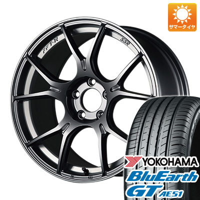 今がお得! 送料無料 195/50R16 16インチ サマータイヤ ホイール4本セット SSR GTX02 6.5J 6.50-16 YOKOHAMA ブルーアース GT AE51