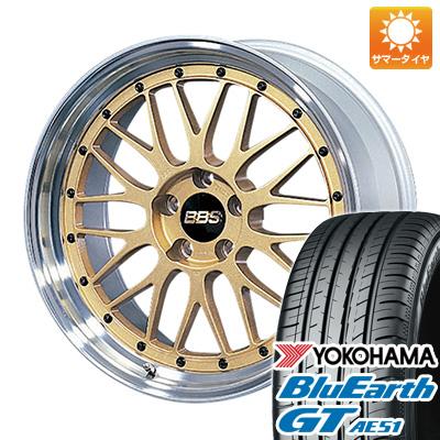 今がお得! 送料無料 235/35R19 19インチ サマータイヤ ホイール4本セット BBS JAPAN BBS LM 8J 8.00-19 YOKOHAMA ブルーアース GT AE51